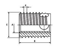 307型自攻螺套-碳鋼