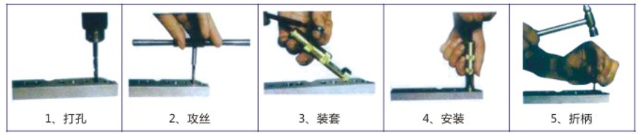 錫青銅螺紋鋼絲螺套